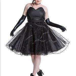 Torrid DC Formal Catwoman dress